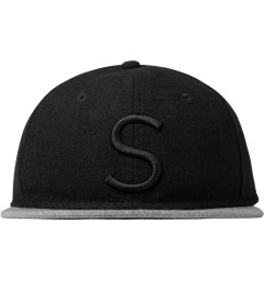 "SATURDAYS Surf NYC Black ""S"" Baseball Cap Picutre"