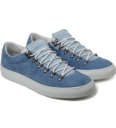 Diemme New Pale Blue Marostica Low Shoes Model Picutre