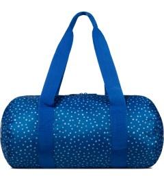 Herschel Supply Co. Cobalt Polka Dot Packable Duffle Bag Picutre