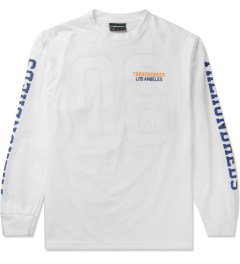 The Hundreds White Sunnyside L/S T-Shirt Picutre