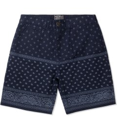Grand Scheme Navy Bandana Short Picutre