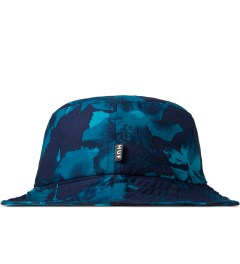 HUF Navy Floral Bucket Hat Model Picutre