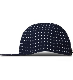 Undefeated Navy U Dot Strapback Cap Model Picutre