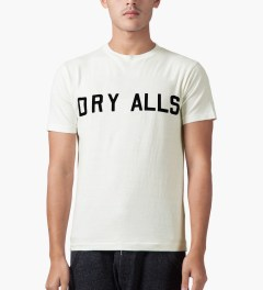 Human Made White Dry Alls T-Shirt Model Picutre