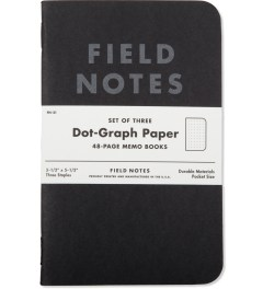 Field Notes 3-Pack Pitch Black Picutre