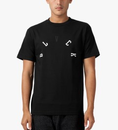 Black Scale Black Arch Base T-Shirt Model Picutre