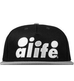 ALIFE Black Antique A Snapback Cap Picutre