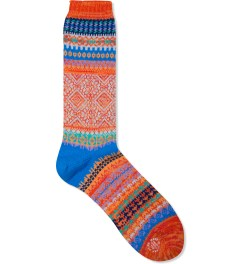 CHUP Orange Litir Socks Picutre