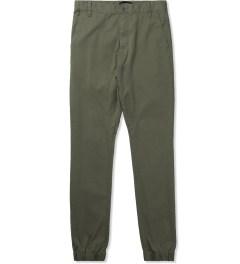 ZANEROBE Military Green Slingshot Pant Picutre
