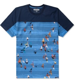 Staple Navy The Radiant Print T-Shirt Picutre