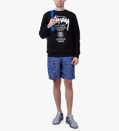 Stussy Blue Gold Flake 8.5 Trunk Model Picutre