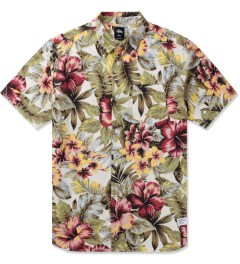 Stussy Natural Island Flower Shirt Picutre