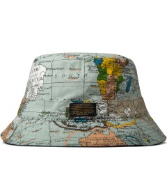 10.Deep Multicolor Thompson Maps Bucket Hat Picutre