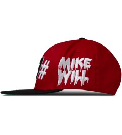 BEENTRILL Red Mike Will 23 Snapback Cap Model Picutre