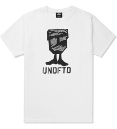 Undefeated White Camo U-Man T-Shirt Picutre