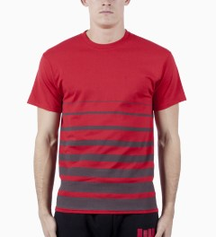 ICNY Red Gradient T-Shirt Model Picutre