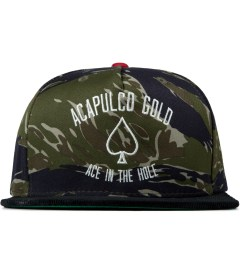 Acapulco Gold Tiger Stripe Camo Ace In The Hole 5-Panel Snapback Cap Picutre