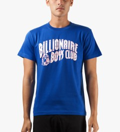 Billionaire Boys Club Blue SMRJ T-Shirt Model Picutre