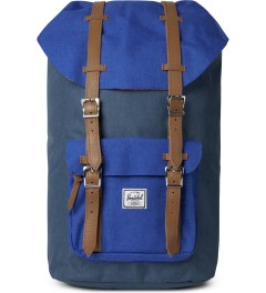 Herschel Supply Co. Cobalt Crosshatch Classics Little America Backpack Picutre