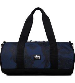 Stussy Blue World Tour Large Duffle Bag Picutre