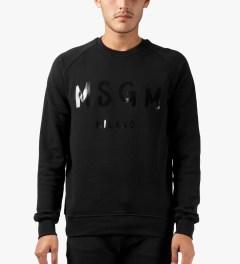 MSGM Black MSGM Sweater Model Picutre