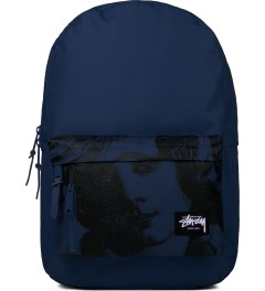 Stussy Blue World Tour Backpack Picutre