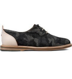 Thorocraft Black Denim Camo Hampton Shoes Picutre