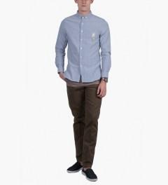 BWGH Blue ARA Shirt Model Picutre
