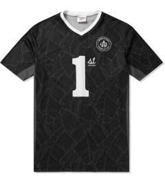 Acapulco Gold Black First Team Soccer Jersey Picutre