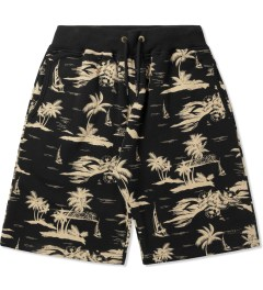 10.Deep Black Black Sands Sweatshorts Picutre