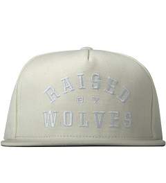 Raised by Wolves Natural College Snapback Cap Picutre