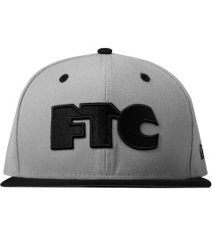 FTC Grey New Era Snapback Cap Picutre