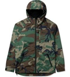 HUF Woodland Camo 10K Tech Jacket Picutre