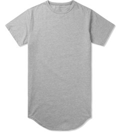 KNYEW Heather Grey E-Long T-Shirt Picutre