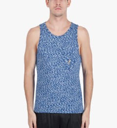 Lightning Bolt Surf The Web Mirror Essential Pocket Tank Top Model Picutre