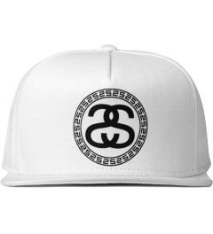 Stussy White Greek Cap Picutre