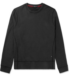 Surface to Air Black Classic Crewneck Sweater Picutre