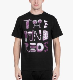 The Hundreds Black Thangs T-Shirt Model Picutre
