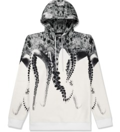 OCTOPUS White Poly Hooded Sweater Picutre