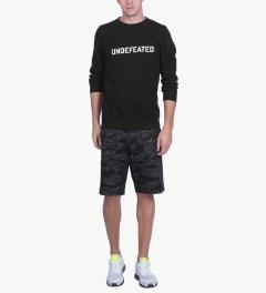 Undefeated Grey HBT Tiger Camo Shorts Model Picutre