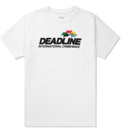 Deadline White Crimewave T-Shirt Picutre