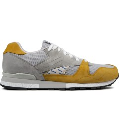 Reebok Garbstore x Reebok Baseball Grey/Trophy Gold Phase II Shoes Picutre