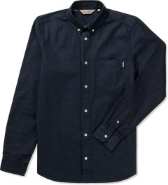 Carhartt WORK IN PROGRESS Blue Rinsed L/S Civil Shirt Picutre