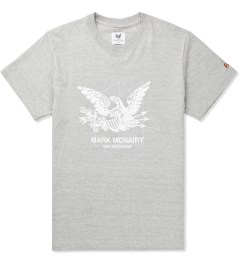 Mark McNairy for Heather Grey Wall Grey Eagle Print T-shirt Picutre