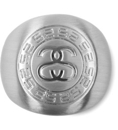 Stussy Silver Greek Ring Picutre