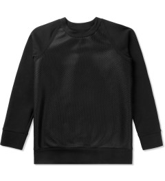 Christopher Raeburn Black Mesh Raglan Sweater Picutre