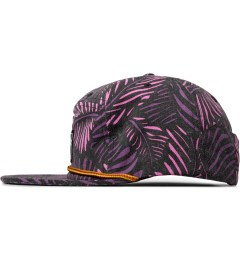 The Hundreds Black Case Snapback Cap Model Picutre