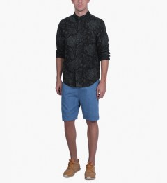 10.Deep Black DVSN One Up Button Down Shirt Model Picutre