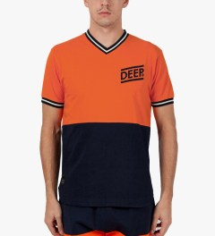 10.Deep Orange Marauders Jersey Model Picutre