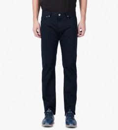 A.P.C. Dark Navy Petit Standard Jeans Model Picutre